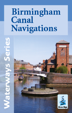 Birmingham Canal Navigations map cover