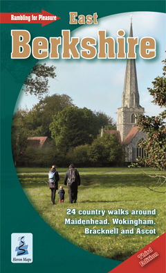 rambling for pleasure in east berkshire cover